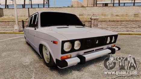 VAZ-2106 Zhiguli BUNKER for GTA 4