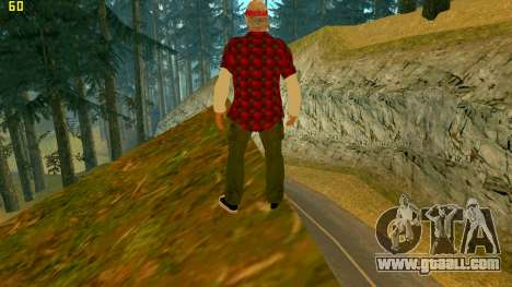 The new texture Truth for GTA San Andreas second screenshot
