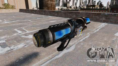 Freezing gun for GTA 4 second screenshot