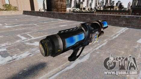 Freezing gun for GTA 4 second screenshot
