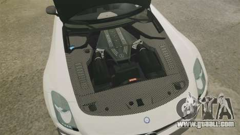 Mercedes-Benz SLS 2014 AMG Driving Academy v1.0 for GTA 4 inner view