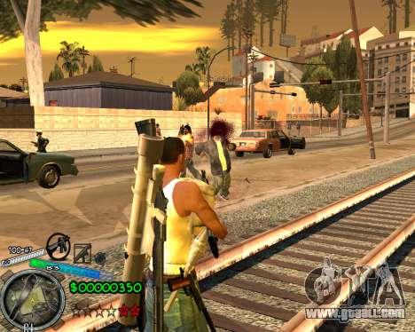 C-HUD Gor Life Ghetto for GTA San Andreas