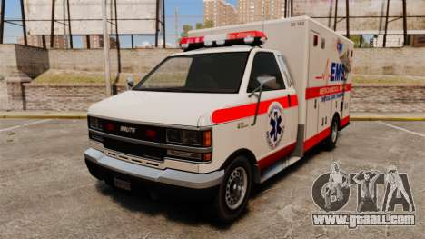 Brute Ambulance v2.1-SH for GTA 4