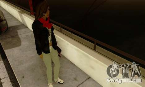 Kim Kameron for GTA San Andreas fifth screenshot