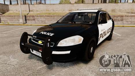 Chevrolet Impala 2008 LCPD [ELS] for GTA 4