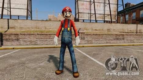 Mario for GTA 4