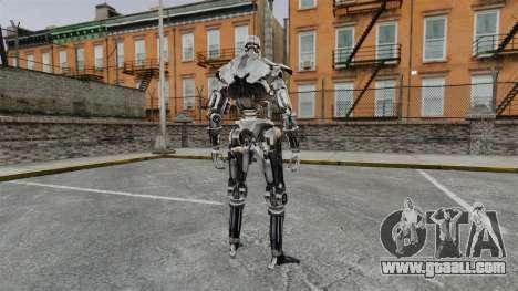 Terminator T-800 for GTA 4 second screenshot