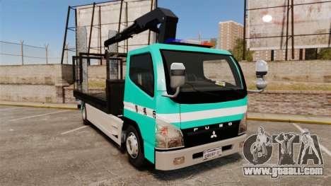 Mitsubishi Fuso Canter Japanese Auto Rescue for GTA 4