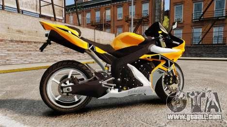 Yamaha R1 RN12 v.0.95 for GTA 4 left view