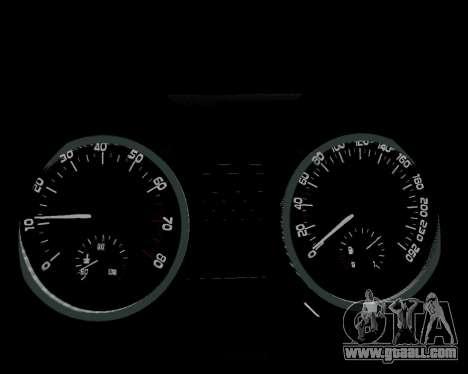 Skoda Octavia A7 for GTA San Andreas engine