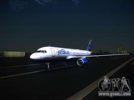 Airbus A320 JetBlue for GTA San Andreas