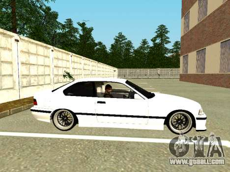 BMW M3 E36 Coupe for GTA San Andreas back left view