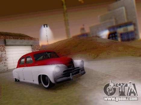 GAZ M-20 Pobeda for GTA San Andreas