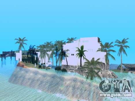 New island V2.0 for GTA San Andreas third screenshot