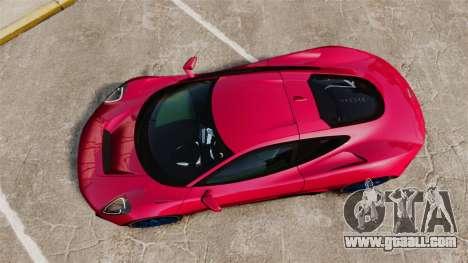 Jaguar C-X75 [EPM] for GTA 4 right view