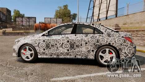 Mercedes-Benz CLA 250 2014 AMG Prototype for GTA 4 left view