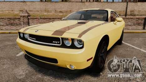 Dodge Challenger SRT8 2009 [EPM] APB Reloaded for GTA 4