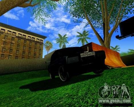 Most Wanted Enb v.2.0 for GTA San Andreas third screenshot