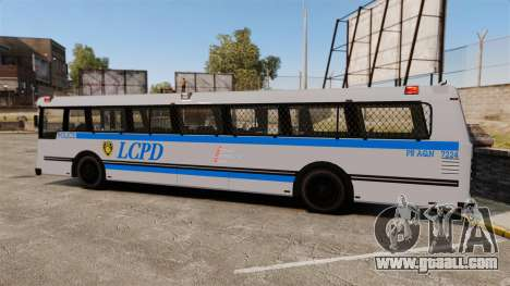 Brute Bus LCPD [ELS] for GTA 4 left view