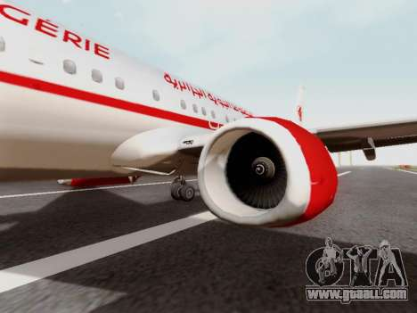 Boeing 737-800 Air Algerie for GTA San Andreas back view