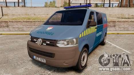 Volkswagen Transporter T5 Hungarian Police [ELS] for GTA 4