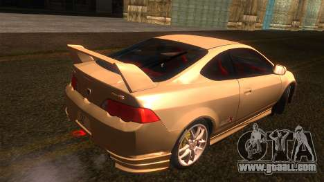 Honda Integra Type R for GTA San Andreas left view