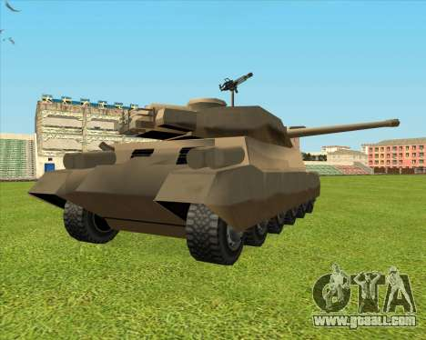 Rhino tp.JSF for GTA San Andreas right view