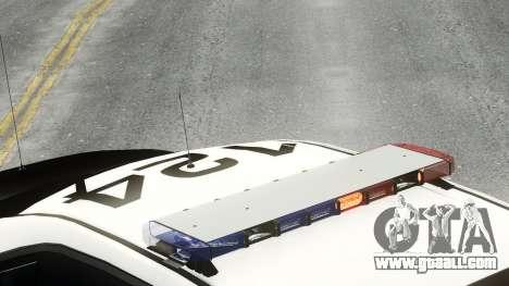 Ford Police Interceptor LCPD 2013 [ELS] for GTA 4 back left view