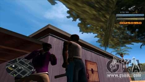 C-HUD Light for GTA San Andreas second screenshot