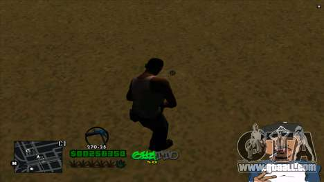 C-HUD By Markus for GTA San Andreas second screenshot
