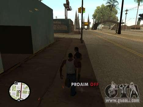 ProAim for GTA San Andreas forth screenshot