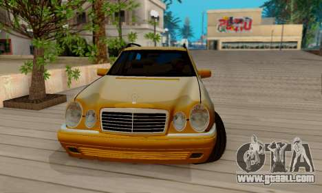 Mercedes-Benz E320 Wagon for GTA San Andreas inner view