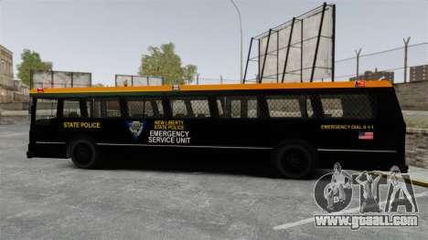 Brute Bus ESU [ELS] for GTA 4 left view
