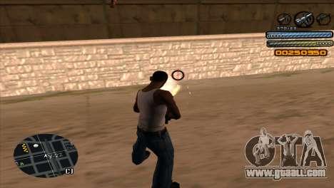 C-HUD Light for GTA San Andreas forth screenshot