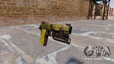 Semi-automatic pistol Kimber for GTA 4