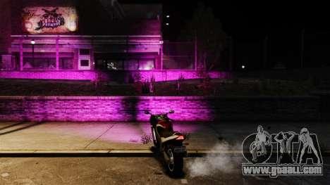 Pink light for GTA 4 second screenshot