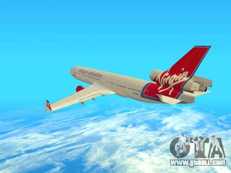 McDonnell Douglas MD-11 for GTA San Andreas right view