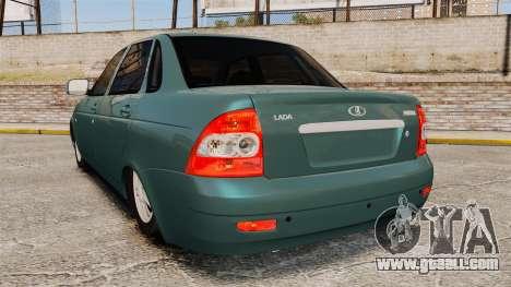 VAZ-2170 for GTA 4 back left view