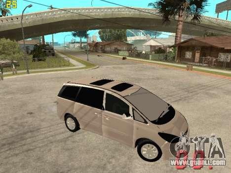 Toyota Estima KZ Edition 4wd for GTA San Andreas right view