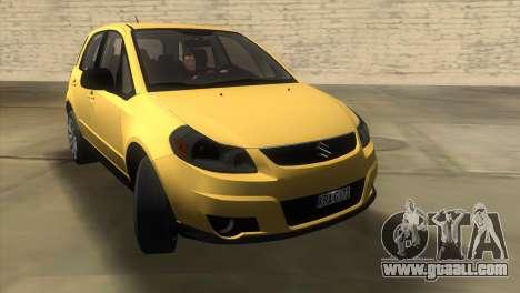Suzuki SX4 Sportback for GTA Vice City right view