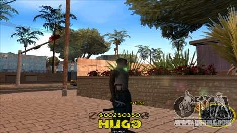 C-HUD Vagos by Hugo for GTA San Andreas