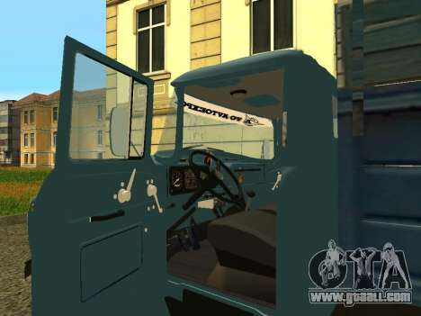 ZIL 130 for GTA San Andreas back view
