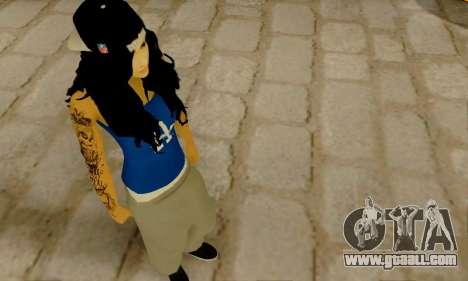 Ophelia v2 for GTA San Andreas third screenshot