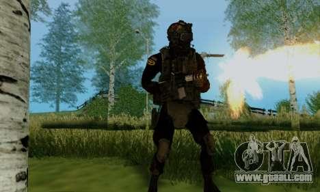 Kopassus Skin 2 for GTA San Andreas fifth screenshot