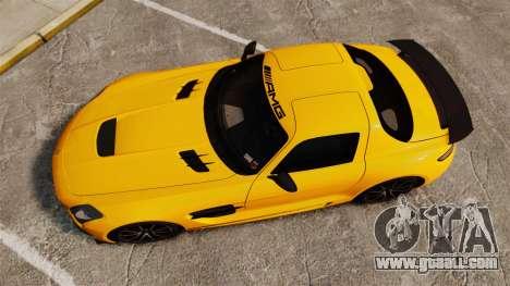 Mercedes-Benz SLS 2014 AMG Performance Studio for GTA 4 right view