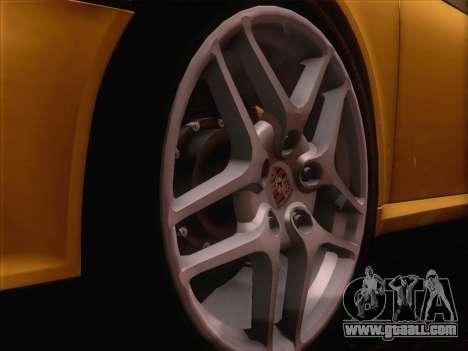 Porsche 911 Targa 4S for GTA San Andreas back view