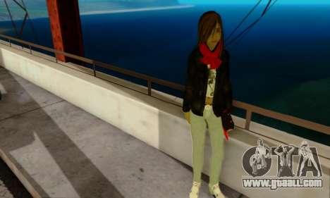 Kim Kameron for GTA San Andreas third screenshot