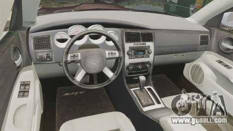 Dodge Charger SRT8 2007 for GTA 4 back view