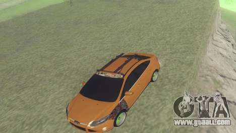 Ford Focus Sedan Hellaflush for GTA San Andreas left view