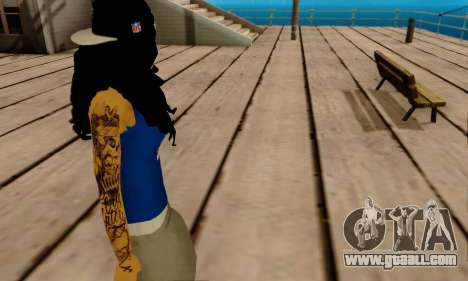 Ophelia v2 for GTA San Andreas fifth screenshot